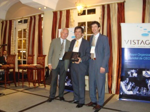 Anibal Carmona, Mejor CEO 2009 Vistage Argentina