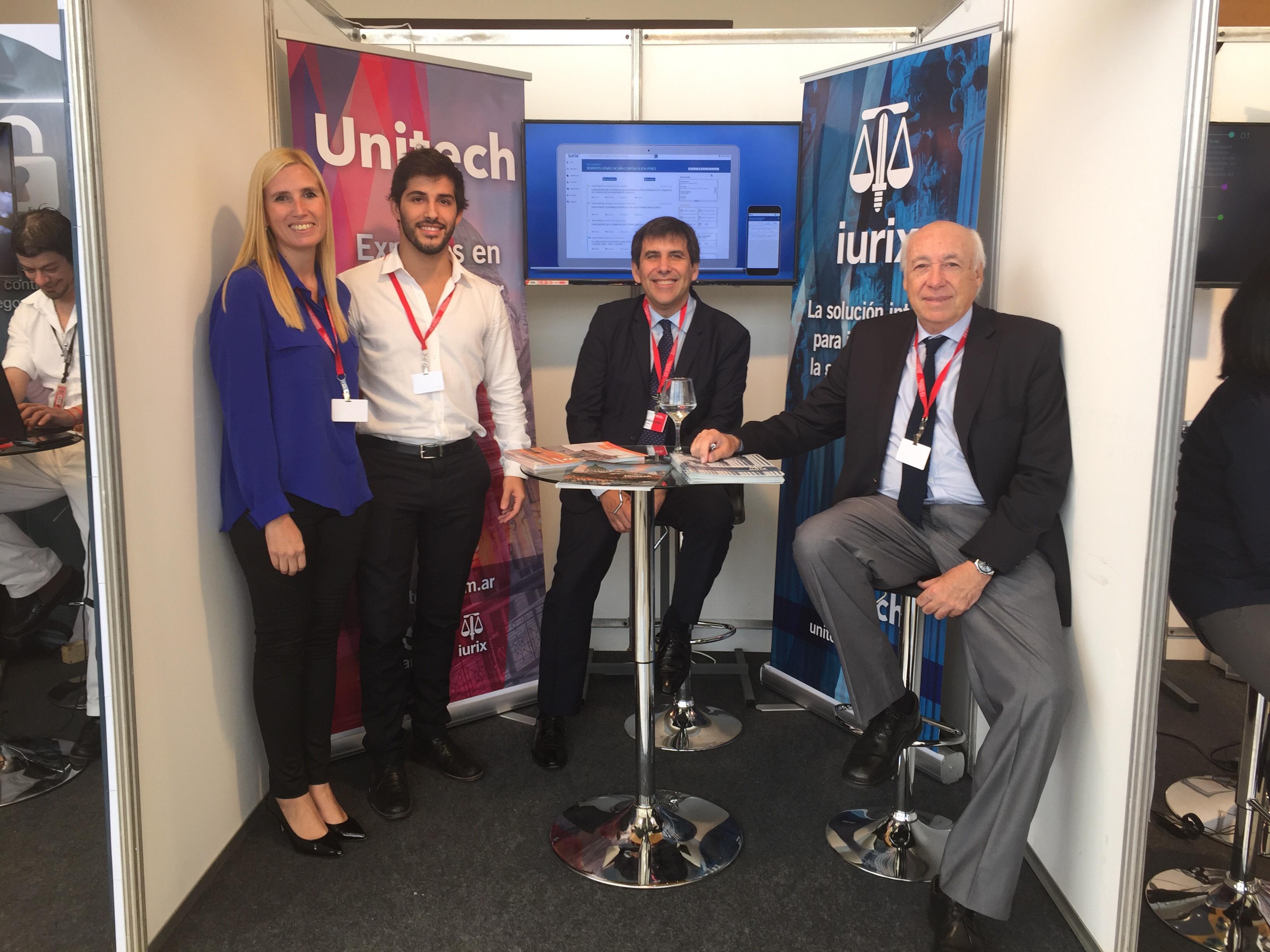 Unitech presentó su nuevo IURIX en la VI Feria de Justicia y Tecnología en Paraguay